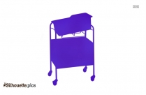 Bassinet Silhouette Image And Vector