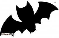 Bat Symbol Stencil Picture Silhouette