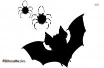 Vampire Bat Halloween Silhouette