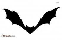 Bat Vector Silhouette Image