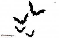 Free Bat Flying Silhouette