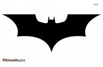 Bat Black And White Silhouette