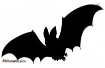 Bat Creepy Silhouette Image