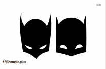 Batman Catwoman Mask Silhouette