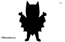 Batman Silhouette Clipart, Vector Art