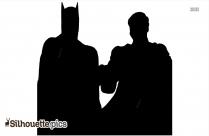 Batman Vs Superman Silhouette