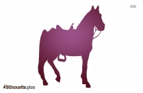 Bay Horse Silhouette Clipart