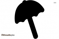 Beach Umbrella Silhouette Clipart Download Free
