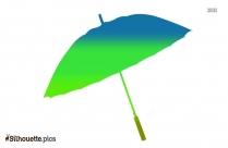 Umbrella Icon Silhouette Image And Vector