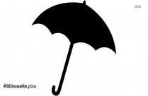 Umbrella Clipart Silhouette Free Vector Art