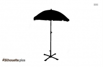 Umbrella Bridal Shower Silhouette Background