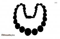 Heart Clip Earrings Silhouette Drawing