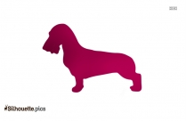 Golden Retriever Dog Silhouette Clipart Image