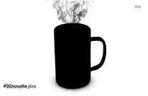 Cartoon Beaker Mug Silhouette