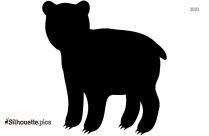 Cartoon Disney Polar Bear Silhouette