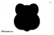 Black Burn Cartoon Silhouette Image