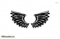 Angel Wings Vector Silhouette Pic