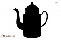 Coffee Pot Silhouette Art