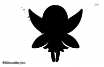 Beautiful Fairy Silhouette Picture Vector