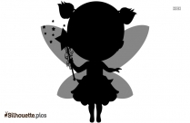 Tinkerbell Fairy Angel Drawing Symbol Silhouette