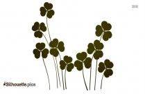 Beautiful Flowers Clipart Silhouette