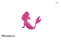 Fictional Girls As Mermaids Silhouette