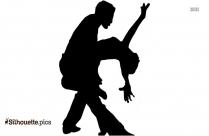 Latin Dancing Silhouette Vector