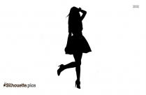 Flapper Girl Silhouette Vector And Graphics