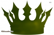 Beauty Queen Crown Logo Silhouette For Download