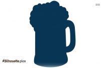 Beer Black And White Clip Art Silhouette