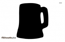 Beer Can Silhouette