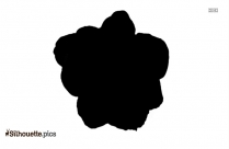 Buttercup Flower Silhouette Illustration
