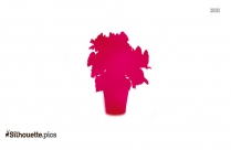 Begonia Flower Silhouette Vector And Graphics