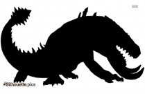 Behemoth From Dragon Silhouette