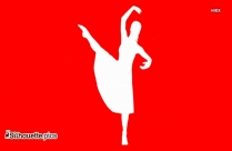 Belly Dancer  Silhouette Image