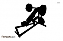 Building Dip Station Clipart Body Solid Fitness Silhouette