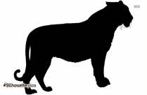 Bengal Tiger Silhouette Image