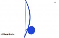 Berimbau Silhouette Clipart