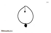 Best Anklets Clipart || Anklets Jewellery Bali Silhouette