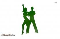 Couple Jive Dancing Clipart