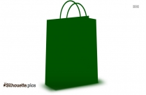 Plastic Shopping Bag Background Silhouette