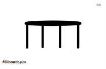 Best Table Clipart Silhouette