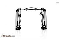 Gymnastics Equipment Silhouette Picture