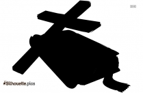 Cross Outline Silhouette Image