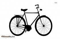 Bicycle Art Silhouette Image And Vector