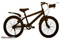 Bicycle Silhouette Background
