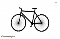 Bicycle Silhouette Vector Png