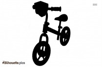 Vintage Bicycle Silhouette Vector And Graphics