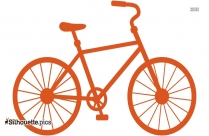 Best Bike Silhouette Icon Vector