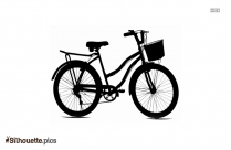 Bicycle Silhouette Clipart Picture